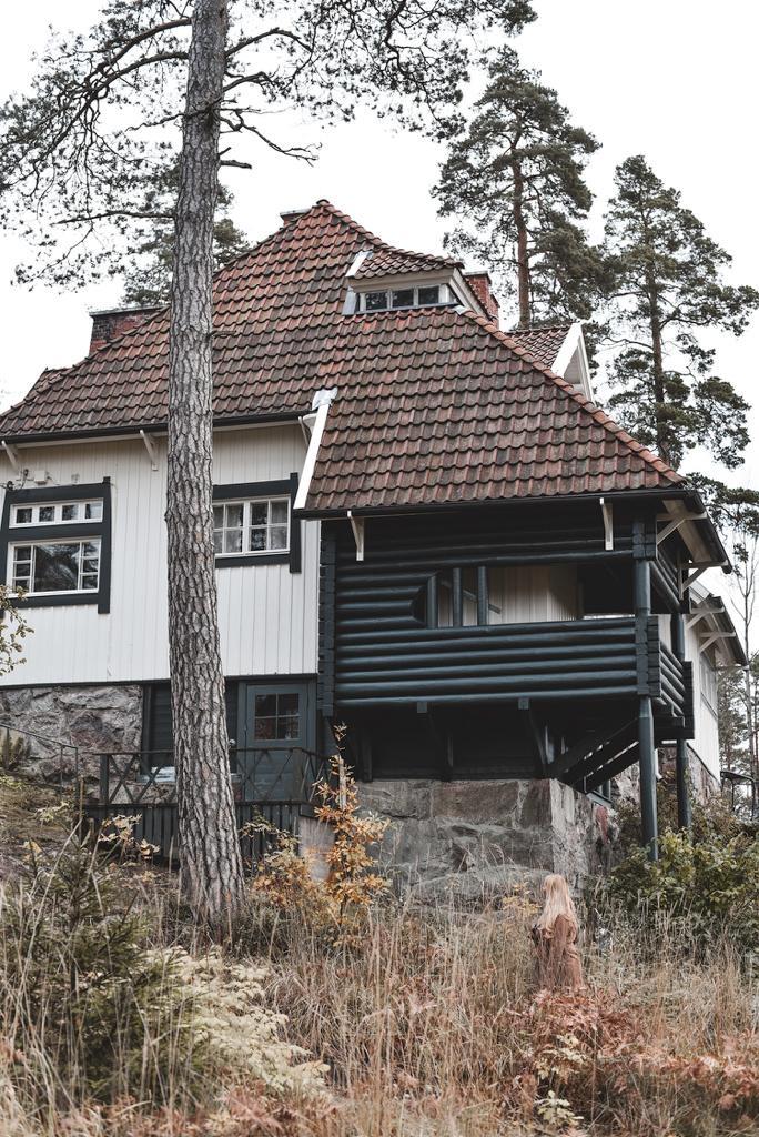 Ainola on Sibeliksen koti Järvenpäässä.
